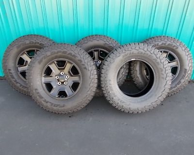 Ohio - 2021 Mojave OEM Wheels & Tires w/TPMS, Includes Dismounted Spare Tire ($1,100)