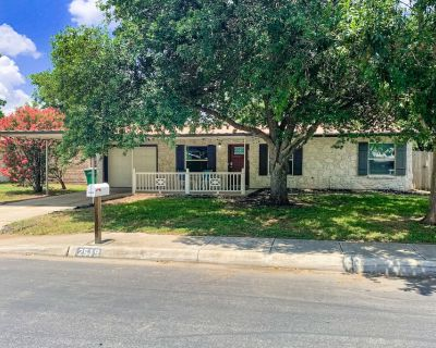 Dog-friendly Home With High-speed Wifi, Central AC, and Washer/dryer - North San Antonio - SAT