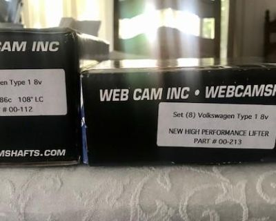 WEB 86C Camshaft and Lifters