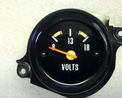 73 74 75 76 77 Chevrolet Gmc Truck Pickup Blazer Suburban Cluster Voltage Gauge