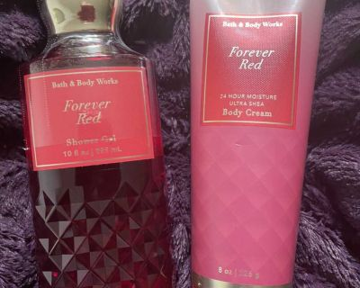 Bath & Body Works Forever Red Set