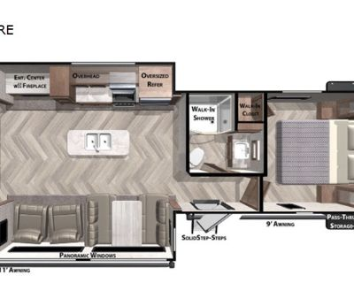 2021 Forest River Rv Wildwood 27RE