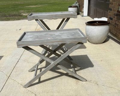 Beachy end tables