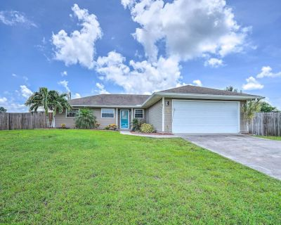 NEW! Cape Coral Home with Pool & Fenced-In Yard - Pelican