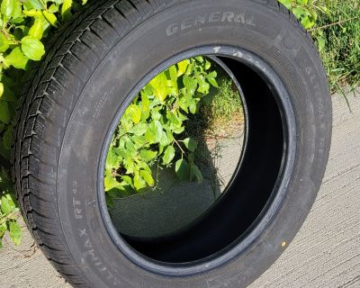 4 General Altimax RT43 all-season tires