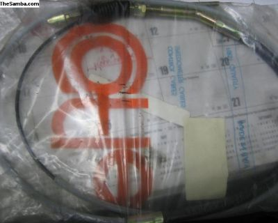911 - 930 Clutch cable