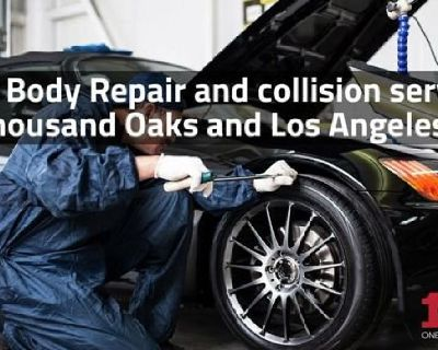 Auto Body Repair and collision services in Thousand Oaks and Los Angeles, CA