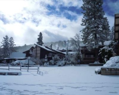 Walk to Slopes! Fireplace! Cabin with Hot Tub! Close to Village and Lake! - Big Bear Lake