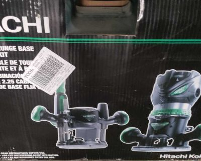 New hitachi router 2.25 hp