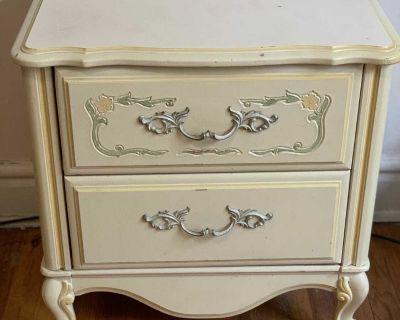 Small vintage dresser/nightstand