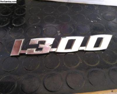 1300 Badge