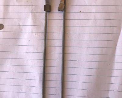 Door lock pull rods w/clips (sold in pairs)