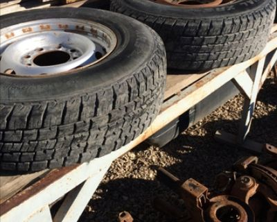 Pickup tires and wheels