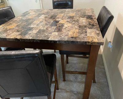 5 piece table