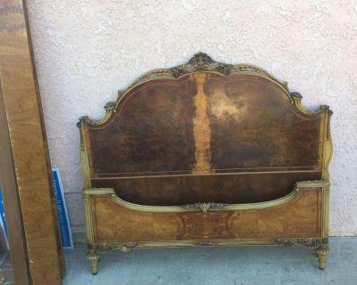 Free Antique Full Size Bedroom set