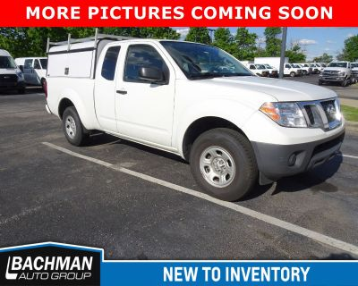 Pre-Owned 2017 Nissan Frontier S RWD Extended Cab Pickup