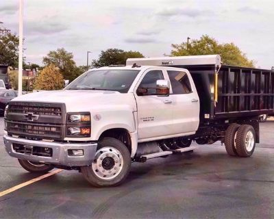 New 2020 Chevrolet Silverado 5500 HD Work Truck Rear Wheel Drive Crew Cab