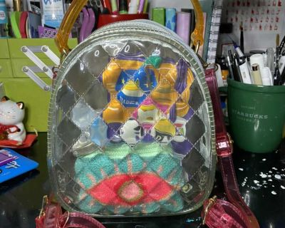 Mini Convertible Jelly Backpack