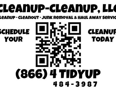 CleanUp, CleanOut, Junk Removal & Haul Away Service with Financing