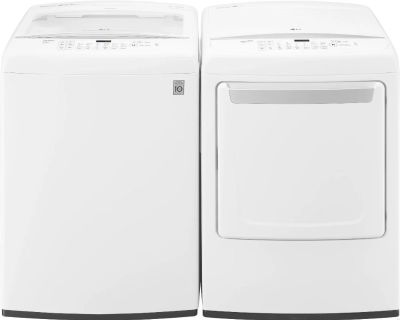 LG Washer and Dryer top load