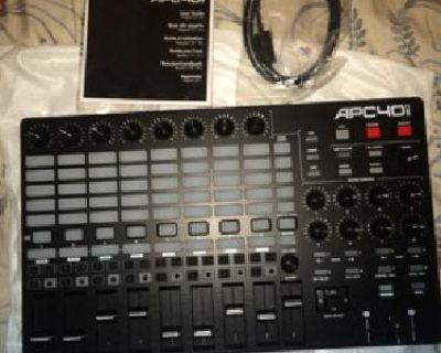 APC40 mkII Ableton Live Performance Controller BRAND NEW FOR SALE