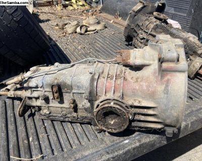 Type 4 manual transmission 4 speed