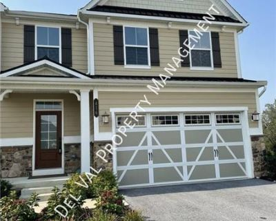 Spacious Newer Construciton (2017) 4-Bdrm Townhome For Rent - 416 Quarry Point Road - Great Valley Schools! (MLS# PACT2007648) By Michel E Lautensack
