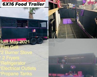 2021 6' x 16' Home Built Kitchen Mobile Unit / Used Food Concession Trailer