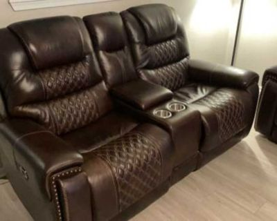 Donate Leather Couch & love seat