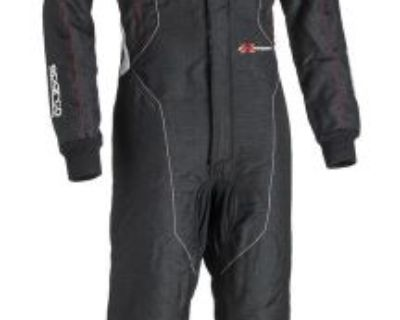 Sparco Extrema Rs-10 Black Single Layer Fia 8858 2000 Racing Suit - Size: 60