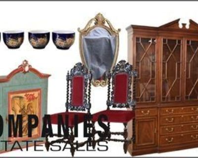 Companies Estate Sales Presents: Gallery Shop: Designer Furnishing Antiques and Collectables