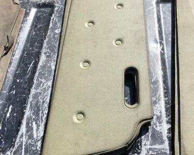 NOS 61-62 rear seat kick panel