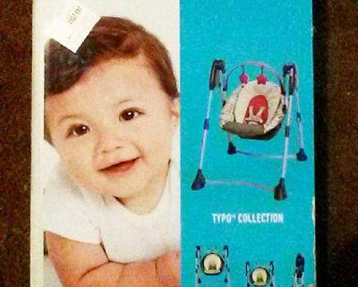 GRACO Swing By Me 2-in-1 Portable Swing