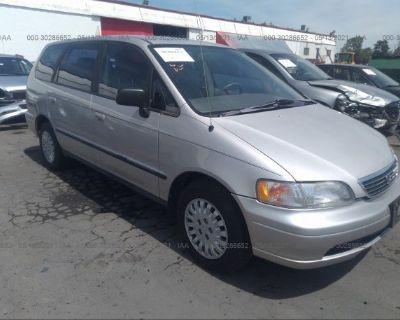 Salvage Gray 1995 Honda Odyssey