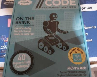 New think fun code programming game series ON THE BRINK