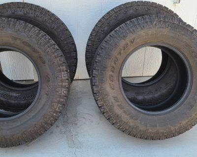 "California - Toyo Open Country A/T tires 33"""