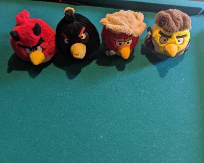 Angry Bird Star Wars Stuffed Toys