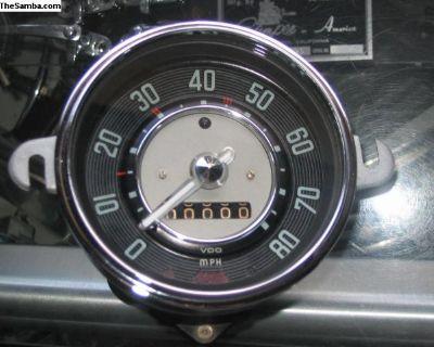 54- 57 Beetle Speedometer- Restored