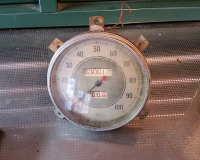 RARE 1935 1936 Ford speedometer FOMOCO SPEEDO HOT ROD RAT ROD VINTAGE FLATHEAD