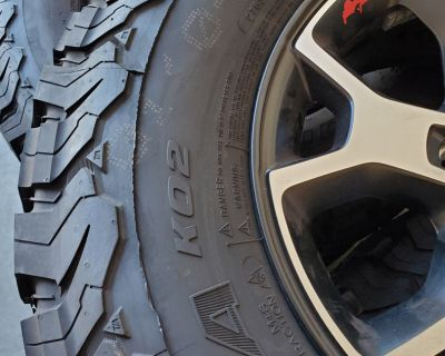Indiana - Five BFG KO2 Tires and Wheels from 2021 JLUR