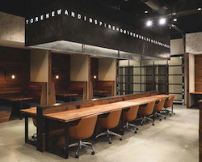 Open Desk - 1 Available at Roam Lenox