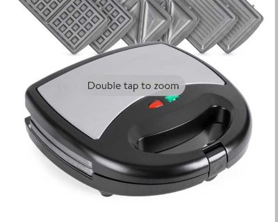 Best choice products 3 in 1 panini waffle grilled sandwich maker