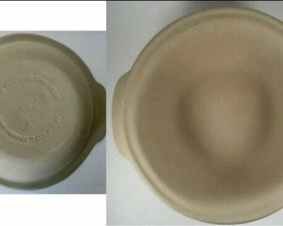 """NEW Stoneware 12 1/2"""" Baking Bowl, Pampered Chef Stoneware, Family Heritage Collection"""