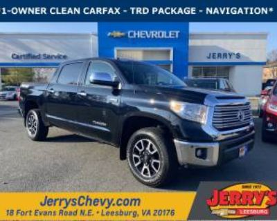 2016 Toyota Tundra Limited CrewMax 5.5' Bed 5.7L V8 4WD