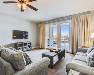 1st floor lakefront condo completely updated with new furnishings! Amazing view! - Panama City Beach