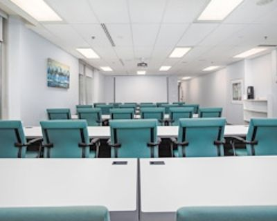 Private Meeting Room for 50 at Metcalfe Centre - TCC Canada