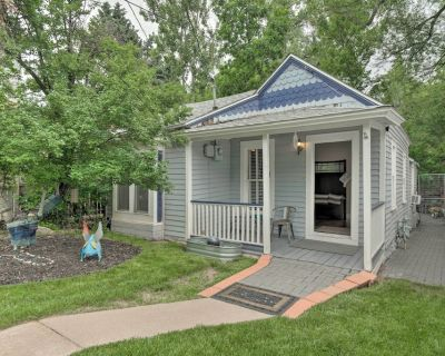 Creekside Home w/Patio, Walk to Manitou Incline! - Manitou Springs Historic District