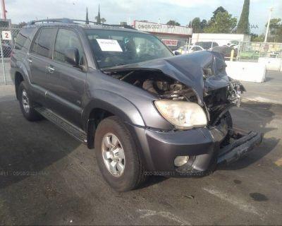 Salvage Gray 2008 Toyota 4runner
