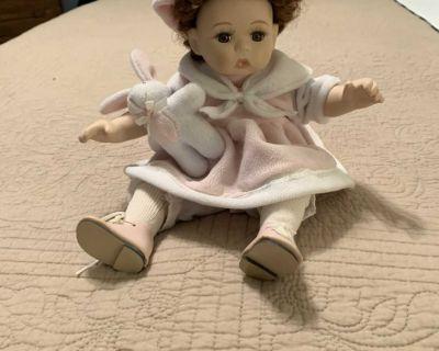 Sitting Porcelain Doll