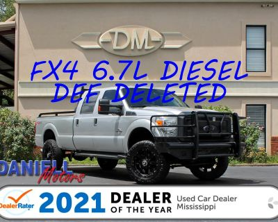 Used 2015 Ford F-250 SD XL Crew Cab Long Bed 4WD